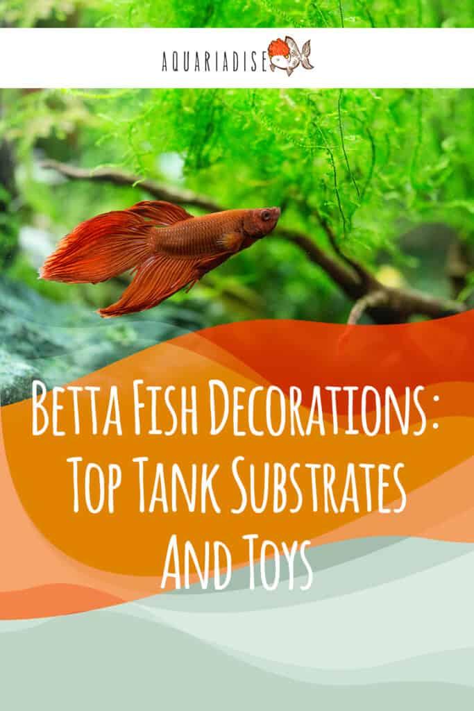 Betta Fish Tank Decorations